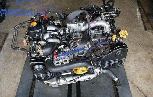 Двигатель на Subaru Legacy EJ25