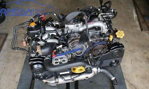 Двигатель на Subaru Forester EJ25