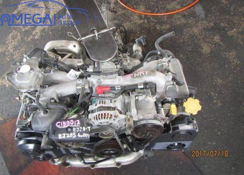 Двигатель на Subaru Forester EJ205