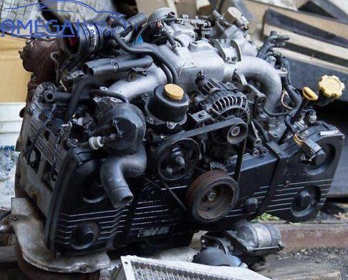 Двигатель на Subaru Forester EJ20