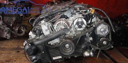 Двигатель на Subaru Forester EJ204