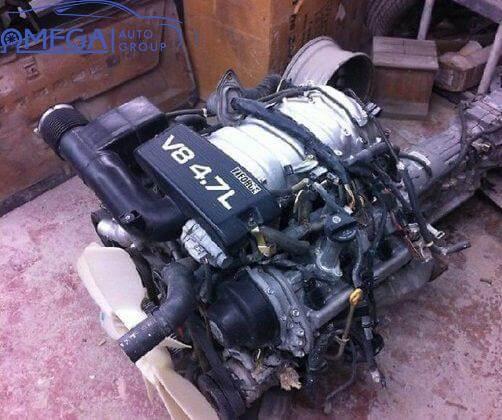 Двигатель на Toyota Land Cruiser 2UZ-FE