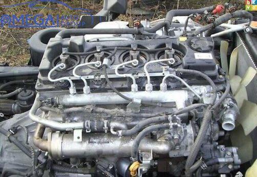 Двигатель на Nissan Patrol ZD30