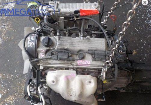 Двигатель на Suzuki Swift G13A