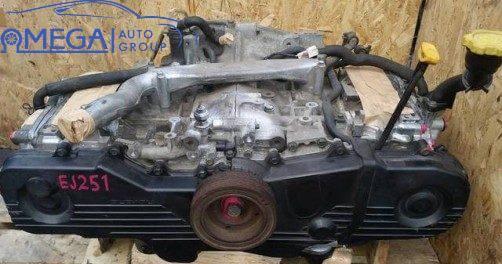 Двигатель на Subaru Outback EJ251