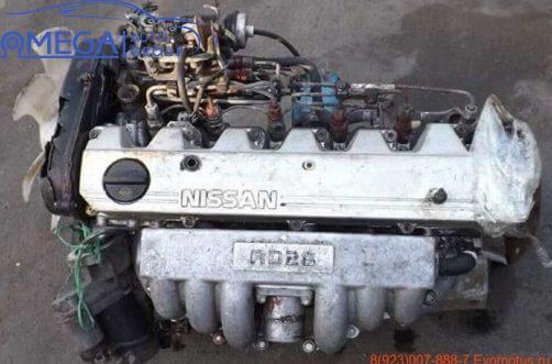 Двигатель на Nissan Patrol RD28