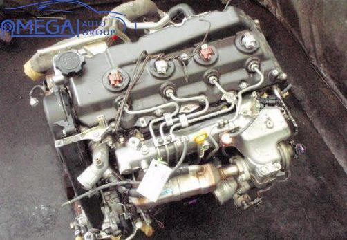Двигатель на Toyota Hiace 2KD-FTV
