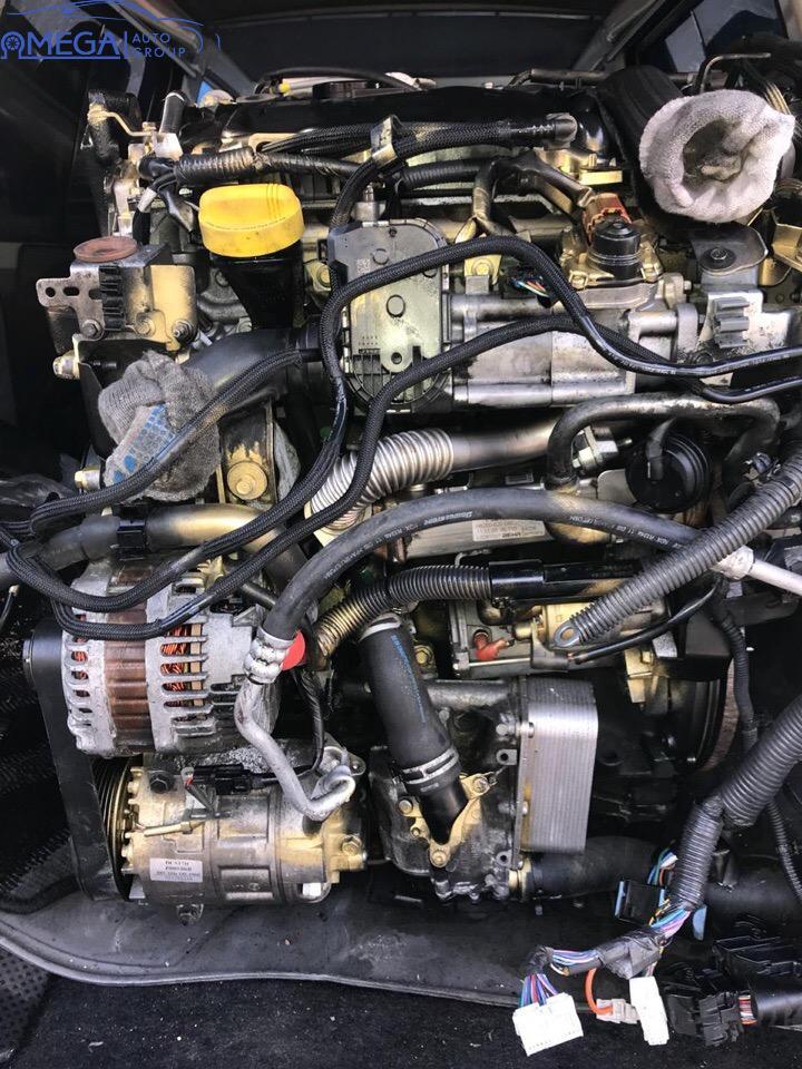 Двигатель на Nissan Qashqai M9R
