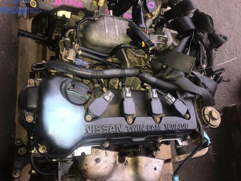 Двигатель на Nissan Primera QG18DE (ДРОССЕЛЬ МЕХ.)