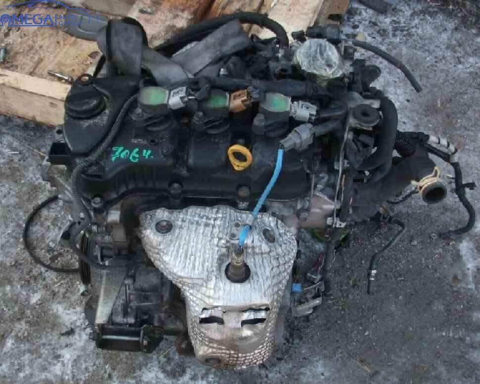Двигатель на Daihatsu Cuore KF-VE