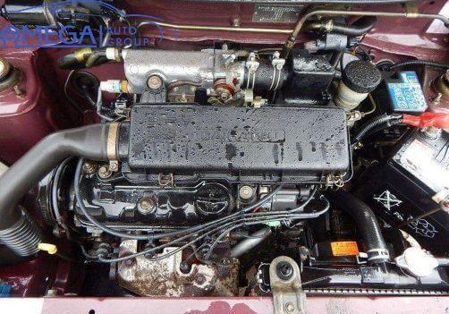 Двигатель на Daihatsu Move ED20