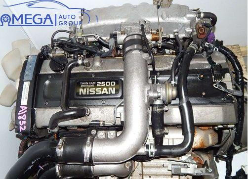 Двигатель на Nissan Skyline RB25DET