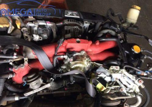 Двигатель на Subaru Forester EJ255