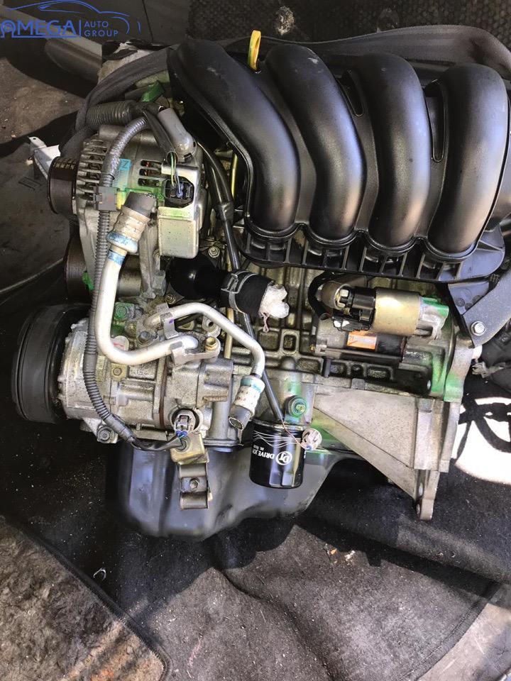 Двигатель на Toyota Avensis 1ZZ-FE (ДРОССЕЛЬ МЕХ.)