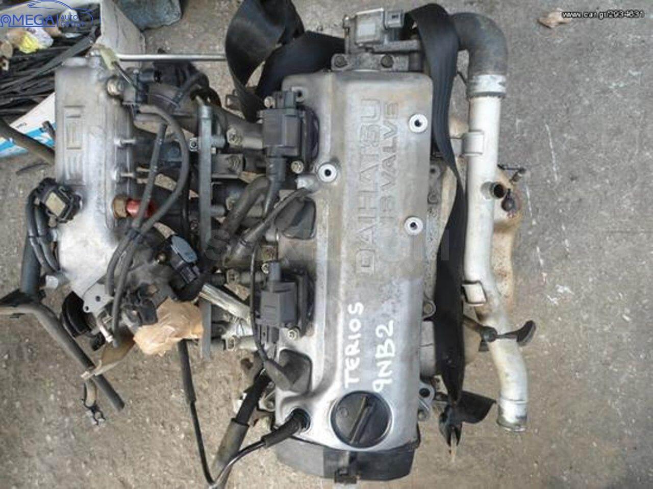 Двигатель на Daihatsu Terrios HC