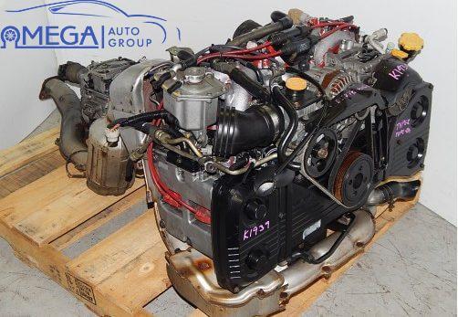 Двигатель на Subaru Impreza EJ207