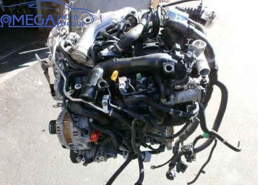 Двигатель на Nissan X-Trail MR16DDT