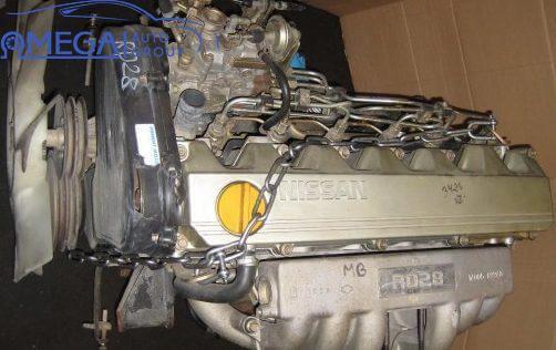 Двигатель на Nissan Patrol RD28T