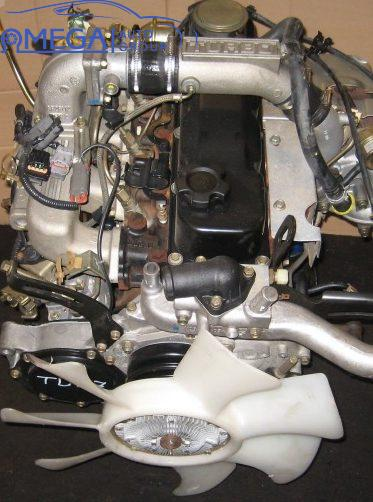Двигатель на Nissan Patrol TD27