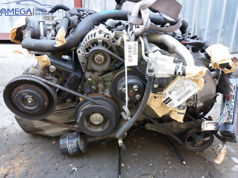Двигатель на Daihatsu Mira KF-VE