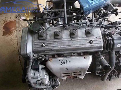 Двигатель на Toyota Corona 5A-FE