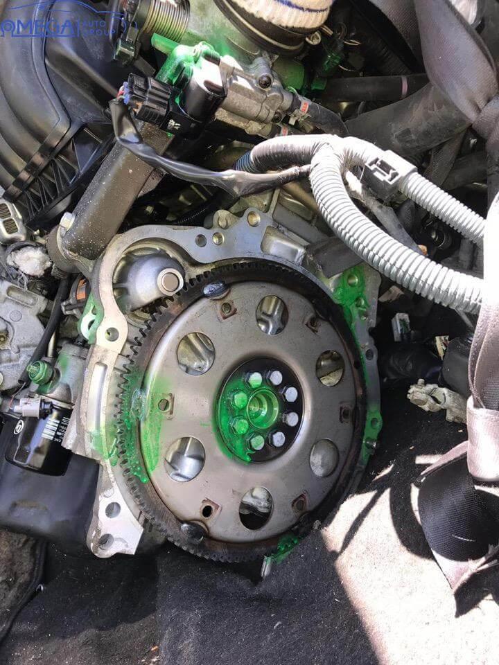 Двигатель на Toyota Corolla 1ZZ-FE