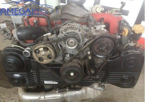 Двигатель на Subaru WRX EJ257