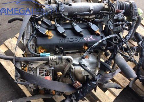 Двигатель на Nissan Teana QR20DE