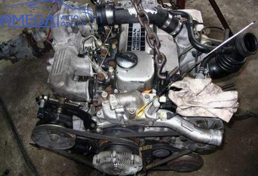 Двигатель на Nissan Navara TD27